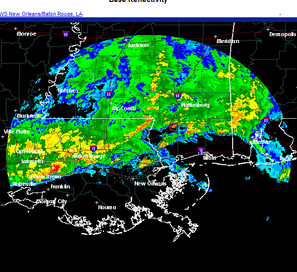 Radar Image for Severe Thunderstorms near Picayune, MS at 11/27/2020 4:53 PM CST
