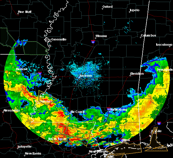 Radar Image for Severe Thunderstorms near Fayette, MS at 7/5/2015 4:57 PM CDT