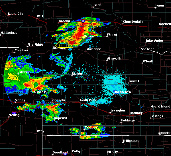 Radar Image for Severe Thunderstorms near St. Francis, SD at 7/5/2015 7:52 PM CDT