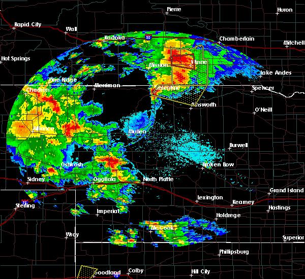 Radar Image for Severe Thunderstorms near Springview, NE at 7/5/2015 9:04 PM CDT