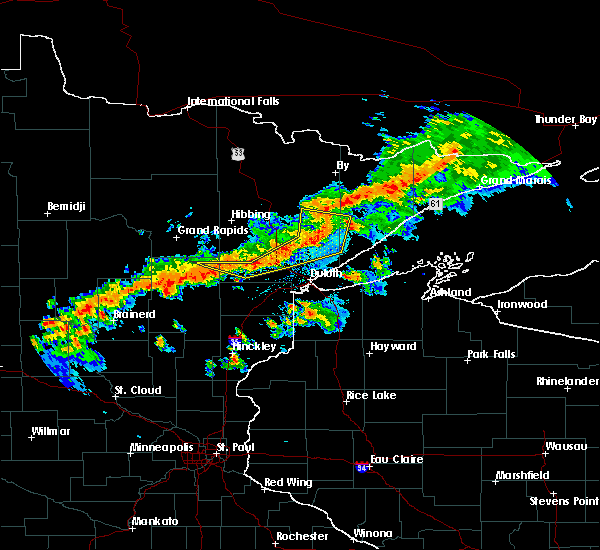 Radar Image for Severe Thunderstorms near Duluth, MN at 7/5/2015 9:46 PM CDT