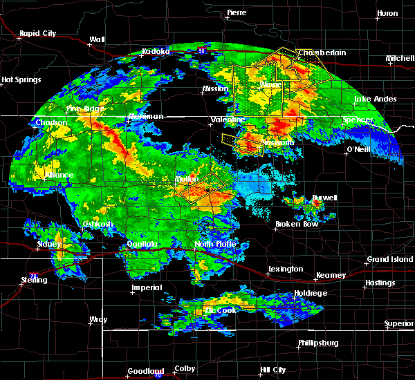 Radar Image for Severe Thunderstorms near Ainsworth, NE at 7/5/2015 10:04 PM CDT