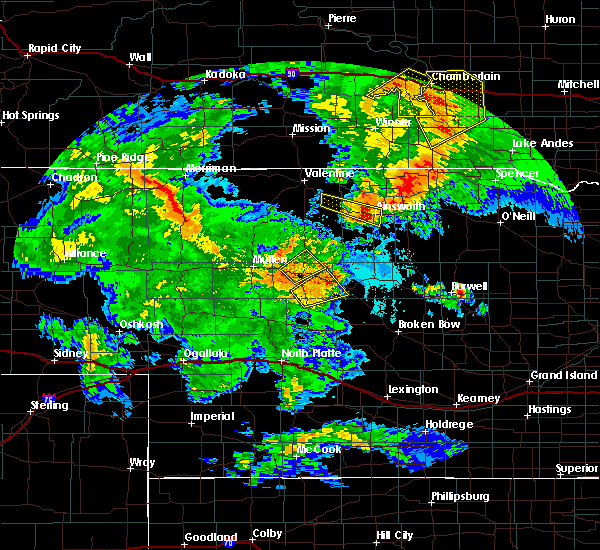 Radar Image for Severe Thunderstorms near Ainsworth, NE at 7/5/2015 10:12 PM CDT