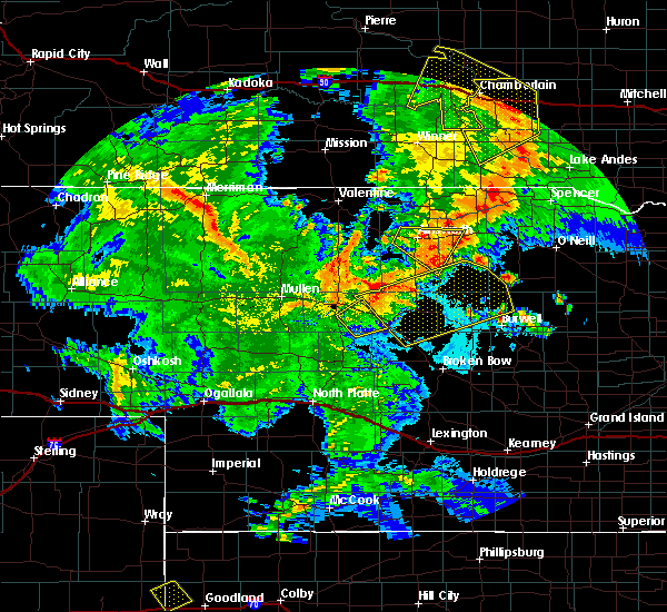 Radar Image for Severe Thunderstorms near Ainsworth, NE at 7/5/2015 10:35 PM CDT