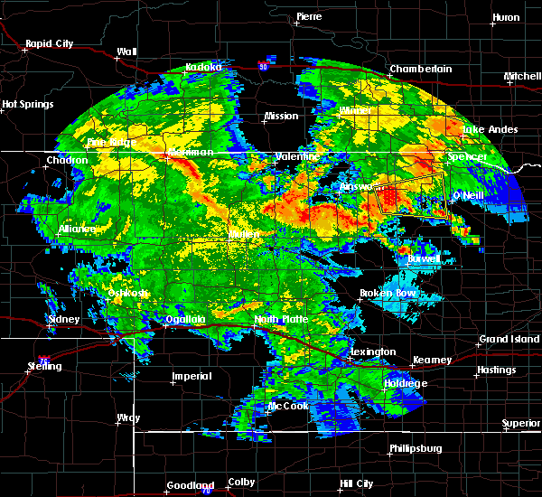 Radar Image for Severe Thunderstorms near Atkinson, NE at 7/5/2015 11:02 PM CDT