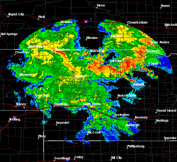 Radar Image for Severe Thunderstorms near Ainsworth, NE at 7/5/2015 11:06 PM CDT