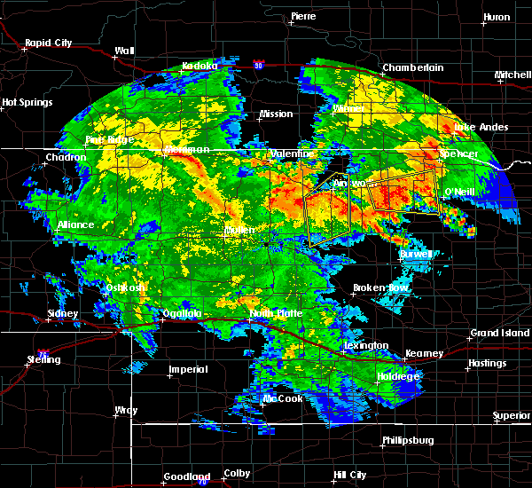 Radar Image for Severe Thunderstorms near Atkinson, NE at 7/5/2015 11:24 PM CDT
