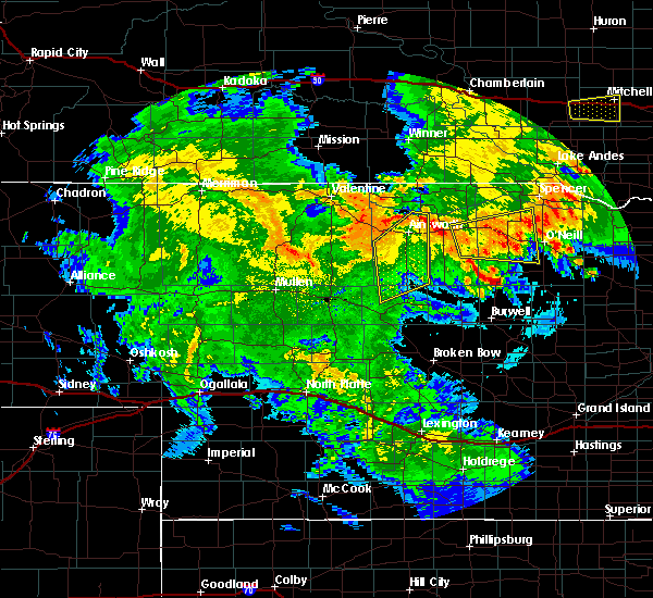 Radar Image for Severe Thunderstorms near Newport, NE at 7/5/2015 11:30 PM CDT