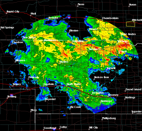 Radar Image for Severe Thunderstorms near Atkinson, NE at 7/5/2015 11:43 PM CDT