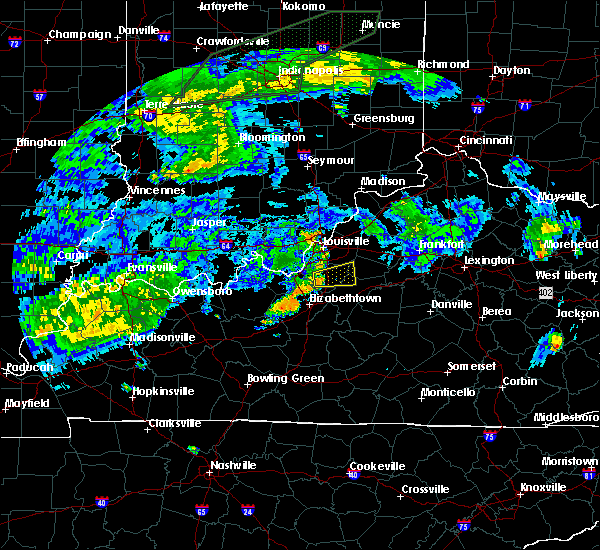 Radar Image for Severe Thunderstorms near Mount Washington, KY at 7/7/2015 3:13 PM EDT