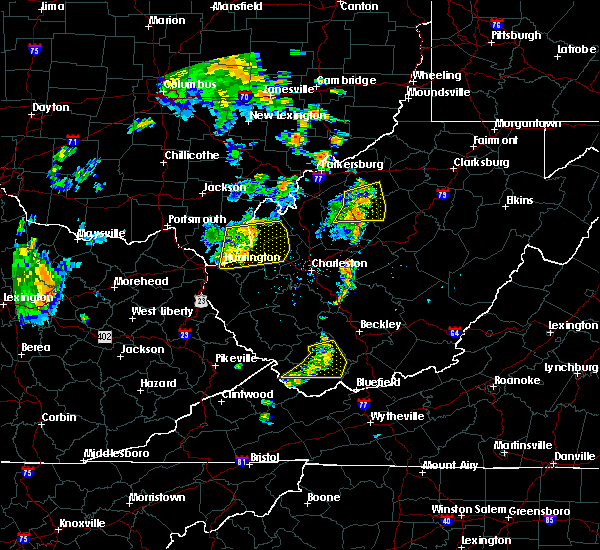 Radar Image for Severe Thunderstorms near Huntington, WV at 7/7/2015 5:25 PM EDT