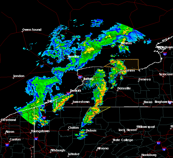 Radar Image for Severe Thunderstorms near Scio, NY at 7/7/2015 5:53 PM EDT