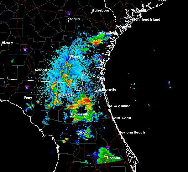 Radar Image for Severe Thunderstorms near Asbury Lake, FL at 7/7/2015 6:35 PM EDT