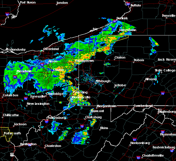 Radar Image for Severe Thunderstorms near Eighty Four, PA at 7/7/2015 7:02 PM EDT