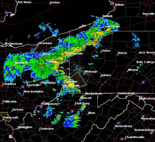 Radar Image for Severe Thunderstorms near West Pittsburg, PA at 7/7/2015 7:09 PM EDT