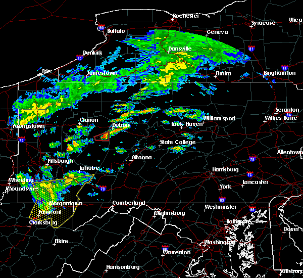 Radar Image for Severe Thunderstorms near Big Run, PA at 7/9/2015 2:05 PM EDT