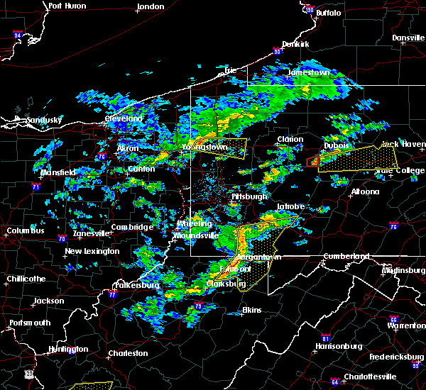 Radar Image for Severe Thunderstorms near South Uniontown, PA at 7/9/2015 2:10 PM EDT