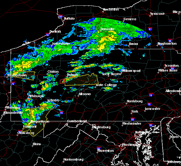 Radar Image for Severe Thunderstorms near Moshannon, PA at 7/9/2015 2:11 PM EDT