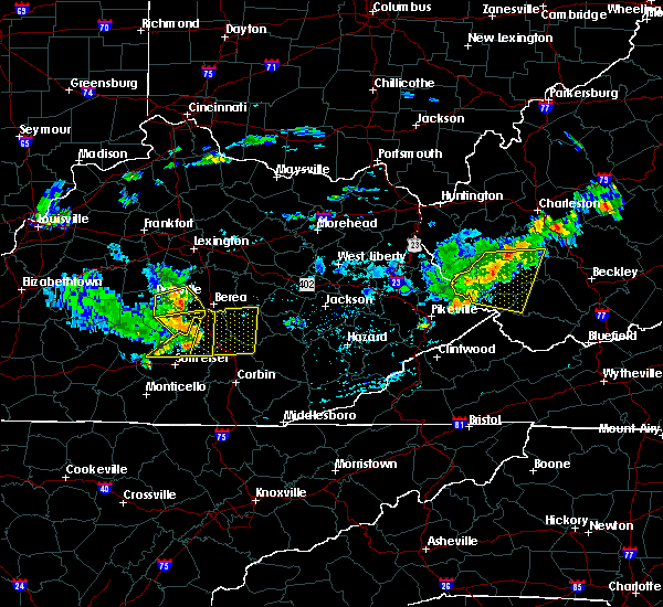 Radar Image for Severe Thunderstorms near Eubank, KY at 7/9/2015 2:13 PM EDT