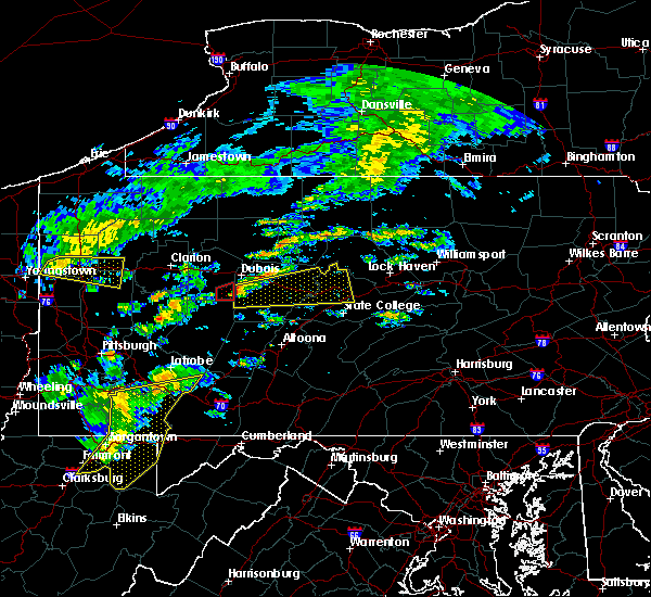 Radar Image for Severe Thunderstorms near Big Run, PA at 7/9/2015 2:14 PM EDT