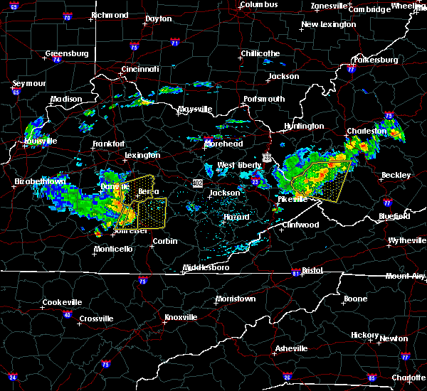 Radar Image for Severe Thunderstorms near Mount Vernon, KY at 7/9/2015 2:16 PM EDT