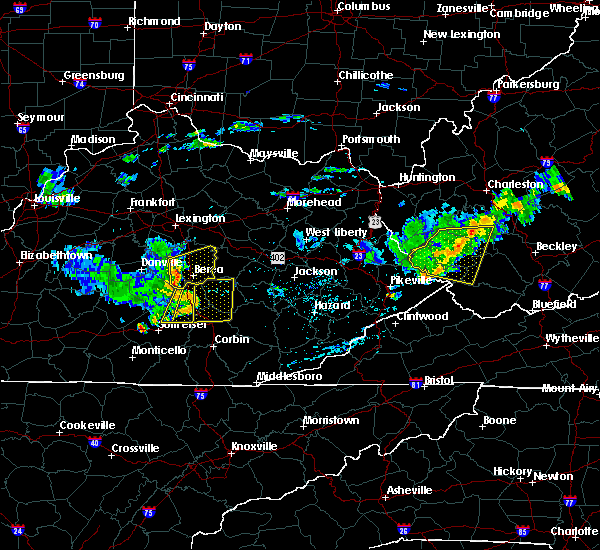 Radar Image for Severe Thunderstorms near Richmond, KY at 7/9/2015 2:17 PM EDT