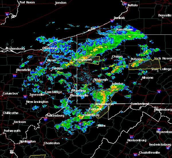 Radar Image for Severe Thunderstorms near Wellersburg, PA at 7/9/2015 2:24 PM EDT
