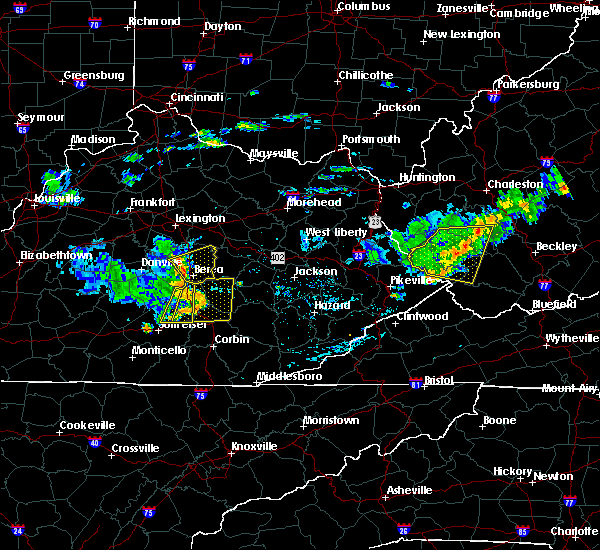 Radar Image for Severe Thunderstorms near Richmond, KY at 7/9/2015 2:26 PM EDT