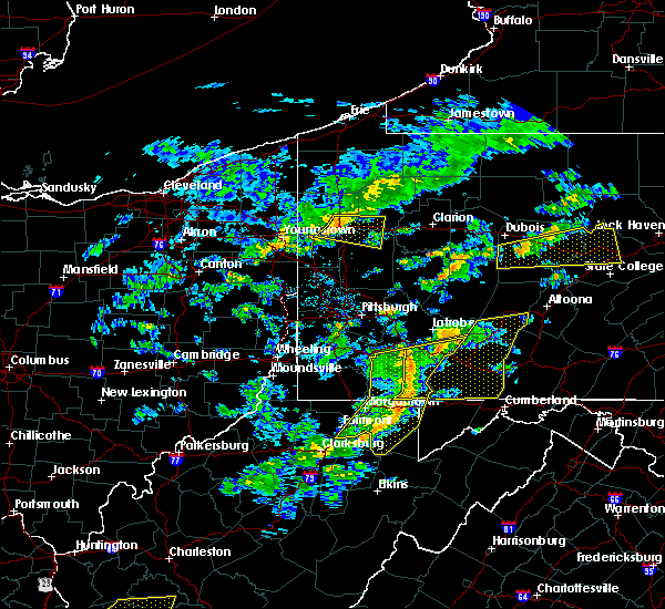 Radar Image for Severe Thunderstorms near Rowlesburg, WV at 7/9/2015 2:33 PM EDT