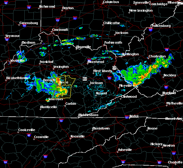 Radar Image for Severe Thunderstorms near McKee, KY at 7/9/2015 2:35 PM EDT