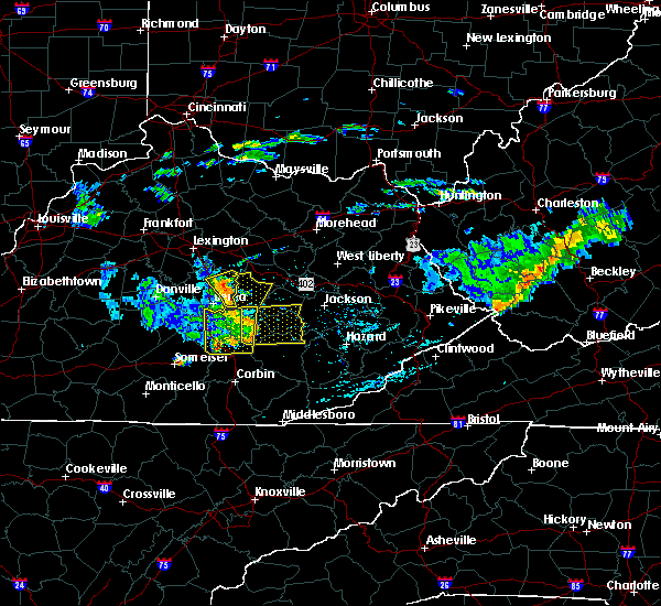 Radar Image for Severe Thunderstorms near McKee, KY at 7/9/2015 2:40 PM EDT