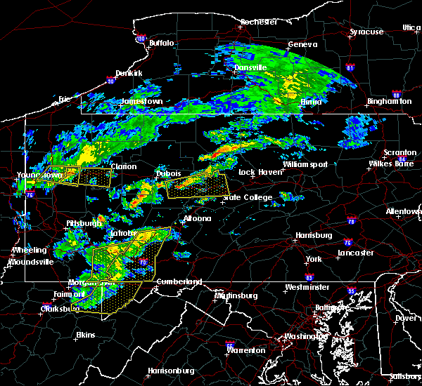 Radar Image for Severe Thunderstorms near Moshannon, PA at 7/9/2015 2:49 PM EDT