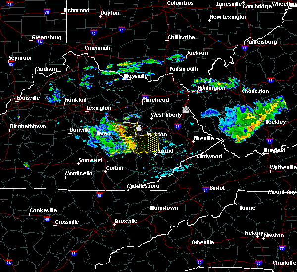 Radar Image for Severe Thunderstorms near Stanton, KY at 7/9/2015 3:06 PM EDT