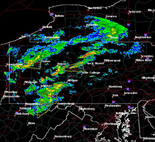 Radar Image for Severe Thunderstorms near Dunlo, PA at 7/9/2015 3:06 PM EDT