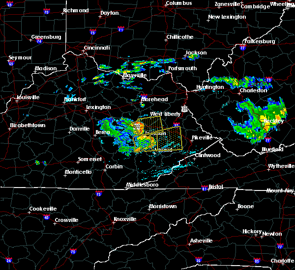 Radar Image for Severe Thunderstorms near Hazel Green, KY at 7/9/2015 3:31 PM EDT