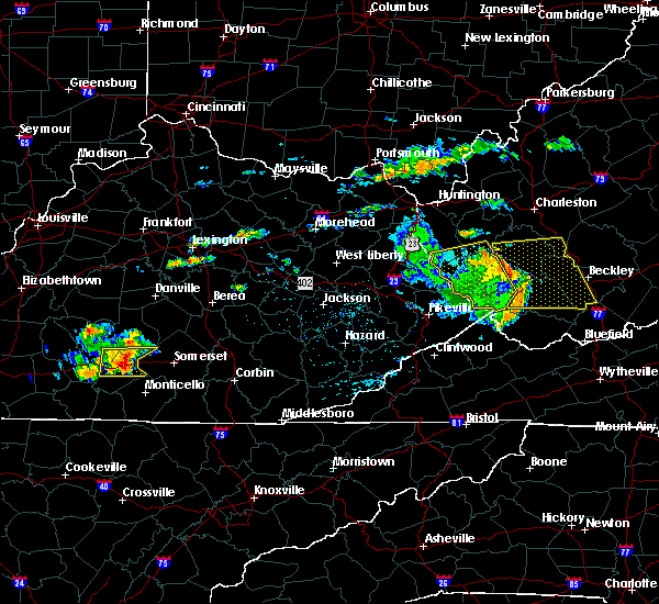 Radar Image for Severe Thunderstorms near Science Hill, KY at 7/9/2015 5:13 PM EDT