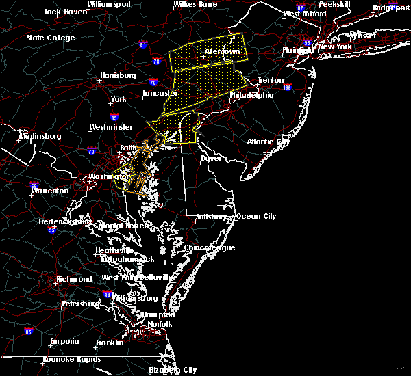 Radar Image for Severe Thunderstorms near Bear, DE at 7/9/2015 7:32 PM EDT