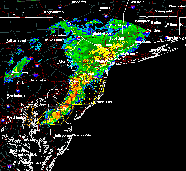 Radar Image for Severe Thunderstorms near Roebling, NJ at 7/9/2015 8:41 PM EDT
