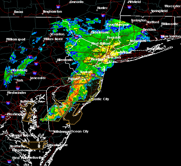 Radar Image for Severe Thunderstorms near Buena, NJ at 7/9/2015 8:54 PM EDT