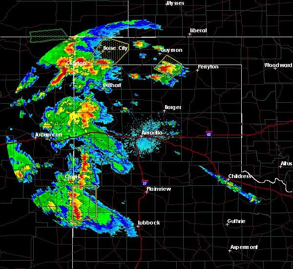 Radar Image for Severe Thunderstorms near Boise City, OK at 7/9/2015 7:57 PM CDT