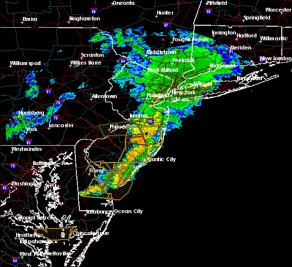 Radar Image for Severe Thunderstorms near Silver Ridge, NJ at 7/9/2015 9:17 PM EDT