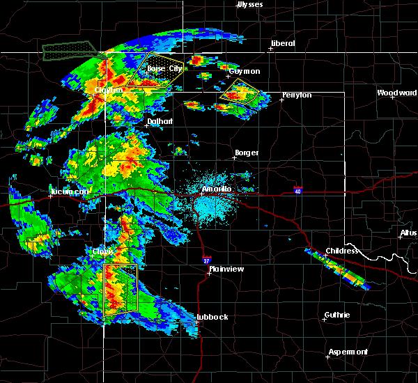Radar Image for Severe Thunderstorms near Boise City, OK at 7/9/2015 8:16 PM CDT