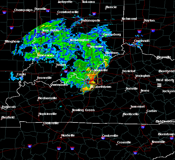 Radar Image for Severe Thunderstorms near Strathmoor Manor, KY at 7/10/2015 10:52 AM EDT