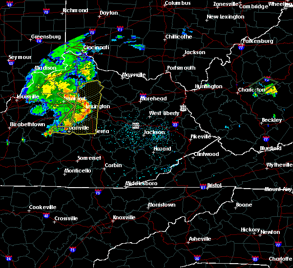 Radar Image for Severe Thunderstorms near Georgetown, KY at 7/10/2015 12:22 PM EDT