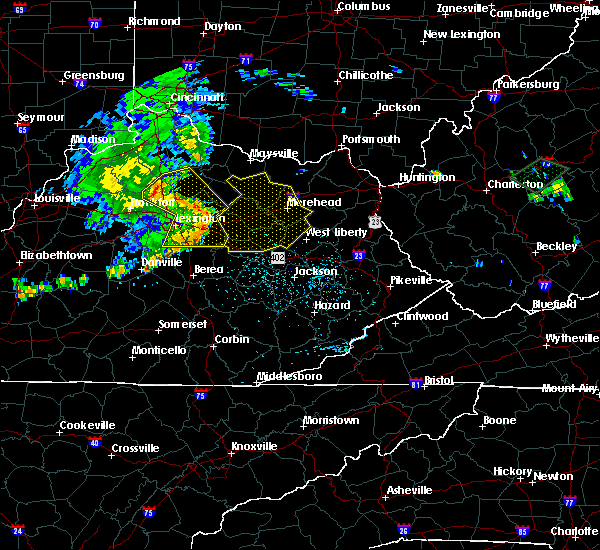 Radar Image for Severe Thunderstorms near Berry, KY at 7/10/2015 12:47 PM EDT