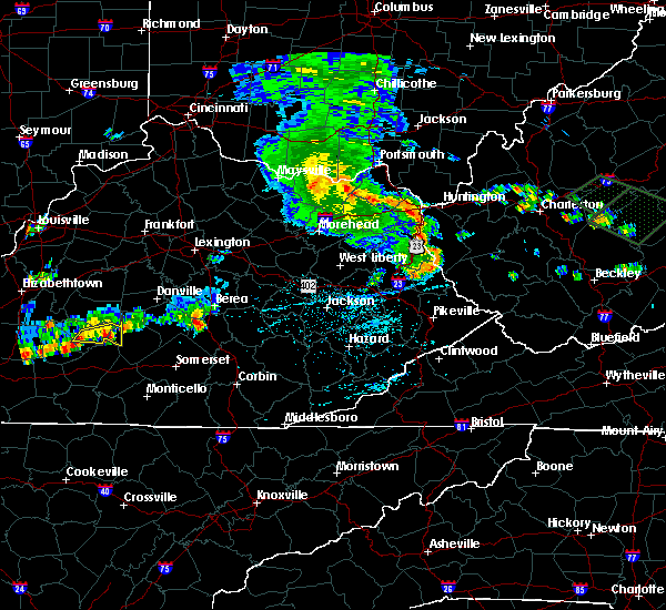 Radar Image for Severe Thunderstorms near Mount Vernon, KY at 7/10/2015 2:39 PM EDT