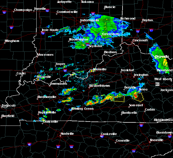 Radar Image for Severe Thunderstorms near Liberty, KY at 7/10/2015 2:46 PM EDT