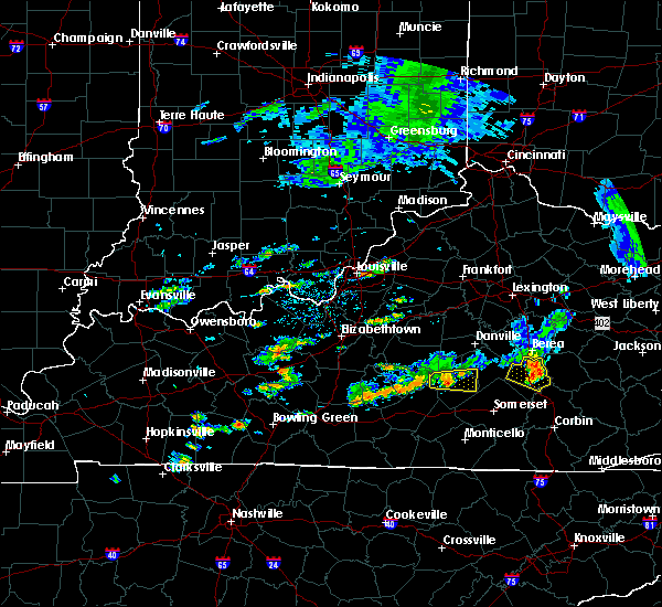 Radar Image for Severe Thunderstorms near Liberty, KY at 7/10/2015 2:56 PM EDT