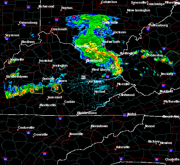 Radar Image for Severe Thunderstorms near McKee, KY at 7/10/2015 2:56 PM EDT