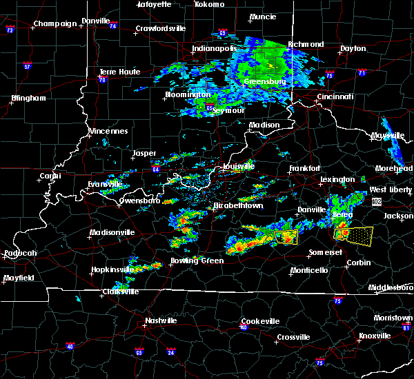 Radar Image for Severe Thunderstorms near Liberty, KY at 7/10/2015 3:05 PM EDT